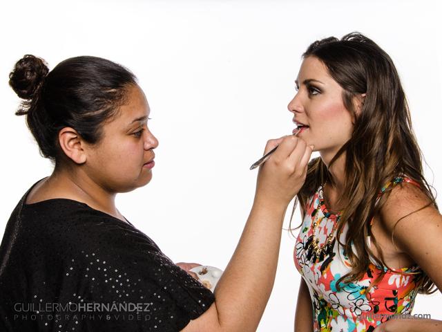 Trabajo de maquillaje